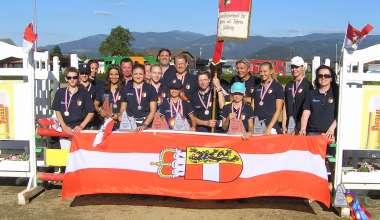 Nach zwei Medaillen bei den BLMM blickt Salzburg nun auf die finale Turnierwoche der Georgenberger Pferdetage